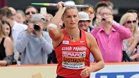 Oštěpařka Barbora Špotáková při kvalifikaci mistrovství Evropy.
