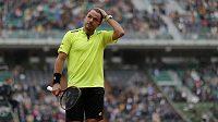 Stan Wawrinka ve čtvrtém kole French Open.