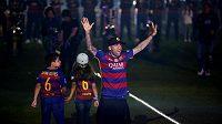 Brazilský obránce Dani Alves opustí Barcelonu.