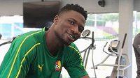Kamerunský fotbalista Yaya Banana.
