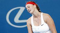 Kvitová zažila v Austrálii další zklamání.