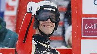 Skokan na lyžích Roman Kudelka slaví třetí místo v závodu Světového poháru v německém Willingenu.