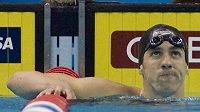 Potrestaný americký plavec Michael Phelps.