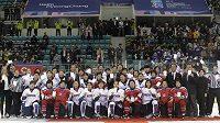 Bude v Pchjongčchangu startovat společný tým severokorejských a jihokorejských hokejistek?