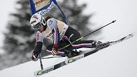 Ondřej Bank je po slalomu na jedenáctém místě.