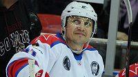 Ruský hokejový útočník Sergej Fjodorov.