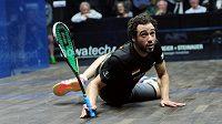 Trojnásobný mistr světa ve squashi Egypťan Ramy Ašúr ukončil kariéru.