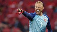 Dánský gólman Kasper Schmeichel proti Walesu uzavřel svou svatyni a nepustil ani jeden gól