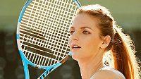 Karolína Plíšková při představení kolekce pro Australian Open.