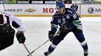 Český útočník Dynama Marek Kvapil se stal jedním z hrdinů rozhodujícího finálového duelu v KHL.