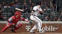 Při utkání MLB mezi Philadelphií Phillies a Atlantou Braves došlo ke zranění půvabné reportérky.