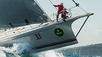 Favorizovaná jachta Wild Oats ani letos nedopluje do Hobartu.