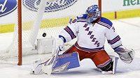 Henrik Lundqvist, brankář New Yorku Rangers.
