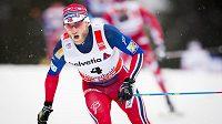 Norský lyžař Martin Johnsrud Sundby při druhé etapě Tour de Ski.