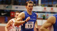 Adam Sebastian Helcelet v závěrečné disciplíně, běhu na 1000 m.