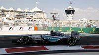 Tréninky v Abú Zabí ovládl Nico Rosberg.