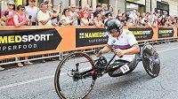 Někdejší automobilový závodník a úspěšný paralympionik Alex Zanardi.