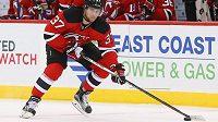 Pavel Zacha v dresu New Jersey Devils.