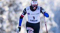 Běžkyně na lyžích Tereza Beranová při sprintu klasicky na MSJ ve finském Vuokatti.