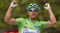 Slovenský cyklista Peter Sagan ze stáje Liquigas-Cannondale