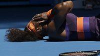 Americká tenistka Serena Williamsová na Australian Open končí.