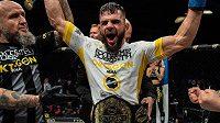 Polák se Mateusz Legierski stal šampionem lehké váhy organizace OKTAGON MMA.