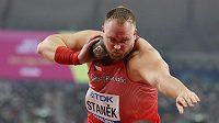 Tomáš Staněk v kvalifikaci světového šampionátu v Dauhá.