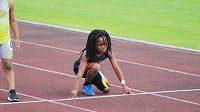 Rudolph 'Blaze' Ingram v pouhých sedmi letech šokuje výkony na atletické dráze.