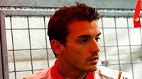 Jules Bianchi na okruhu v Suzuce.