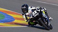 Španělský motocyklový jezdec Álec Mariňelarena