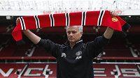 Nový kouč Manchesteru United Jose Mourinho.