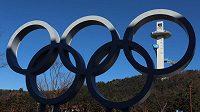 Olympijské kruhy - ilustrační foto.