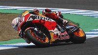 Hvězda MotoGP Marc Márquez.