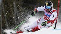 Rakušan Marcel Hirscher při obřím slalomu SP v Beaver Creeku.