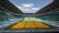 Jeden ze stadionů připravovaných pro MS 2022.