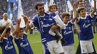 Kanonýr Raul se loučil se Schalke.