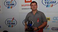 Adam Lacko s trofejí za 3. místo v ME tahačů