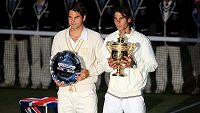 Roger Federer a Rafael Nadal se už těší na další vzájemný souboj.