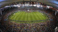 Diváci na slavném stadiónu Maracaná po finálovém zápase mezi Argentinou a Německem.
