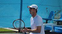 Andy Murray na tréninku