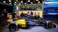 Futuristický model stáje Renault.