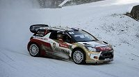 Sébastien Loeb útočí na sedmé vítězství v Rallye Monte Carlo.