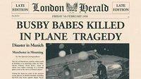 Takto dobový tisk informoval o katastrofě letadla s fotbalisty týmu Manchester United 6. února 1958.