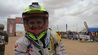 Milan Engel před startem 9. etapy Rallye Dakar.