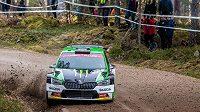 Devatenáctiletý Petr Semerád vyhrál Rallye Vyškov, třetí závod Rallyesprint série (ilustrační foto)