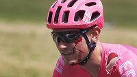 Tejay Van Garderen po nehodě v sedmé etapě Tour de France.