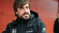 Pilot McLarenu Fernando Alonso.