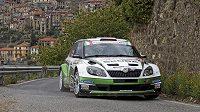 Jan Kopecký během Rallye San Remo