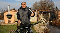 Někdejší slavný cyklista Jan Smolík.