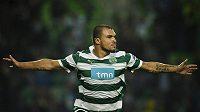 Bulharský forvard Valerij Božinov střílel góly i ve Sportingu Lisabon